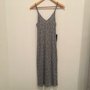 Express grey marbled dress